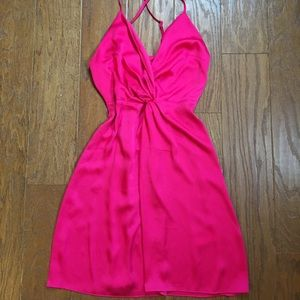 SALE TODAY ONLY🎉 Pink silk dress